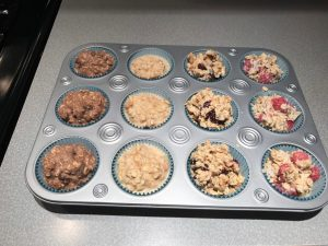 Try this super easy recipe for oatmeal muffins that you can keep in the freezer for a healthy and delicious grab and go breakfast or snack!