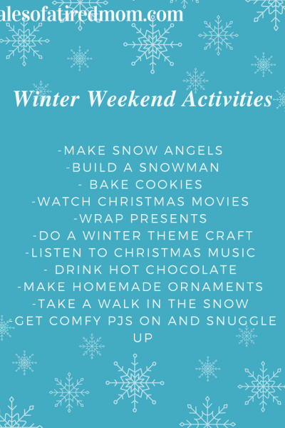 Winter Weekend Fun Ideas