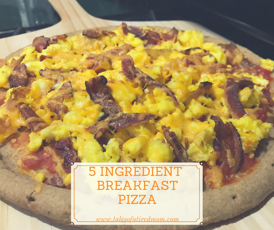 Breakfast. Pizza. You will thank me for this! And thank you Target for the quick, easy and delicious dinner inspiration.