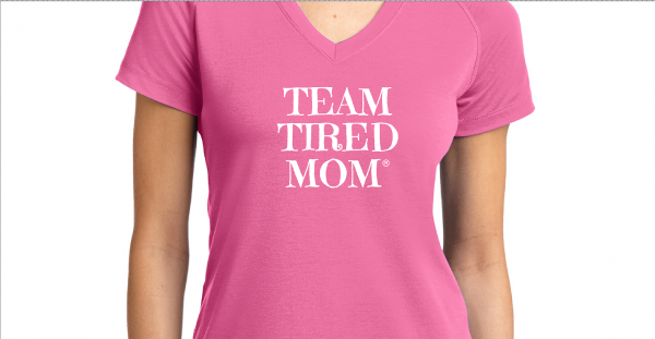 Team Tired Mom Tee-Shirt! For every purchase, 5% of the proceeds will be donated to Autism Speaks! Thank you for all your support!