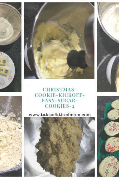 Christmas Cookie Kickoff – Easy Sugar Cookies