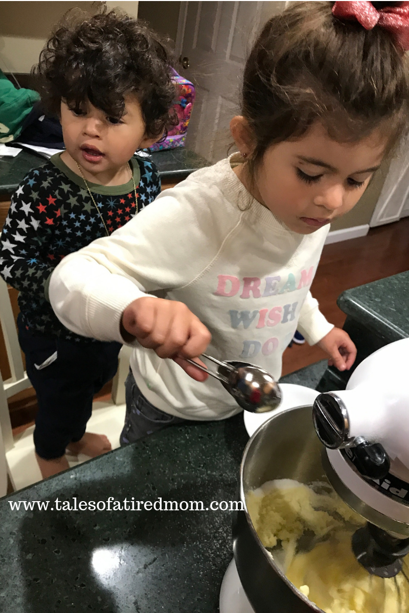 I hope baking Christmas cookies is a tradition for years and years to come!! I love that my two littles really enjoy helping their mama!