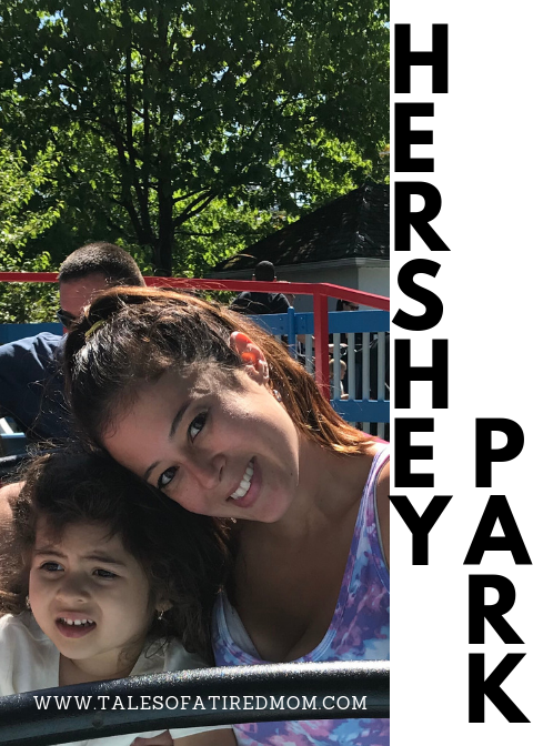 We did it all at Hershey Park! We rode a ton of rides together, took pictures with Hershey characters, visited ZooAmerica and indulged in treats and sweets!