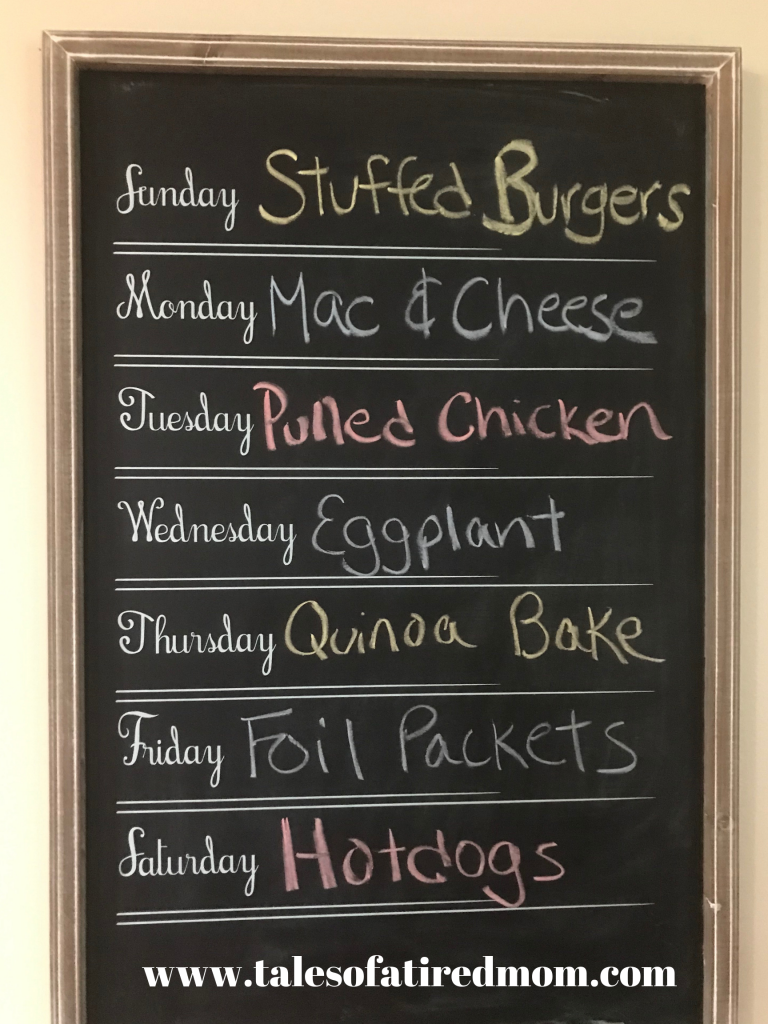 So the theme for this week's dinner menu is going to be quick quick quick! Because just like this monday, I am constantly running out of time!