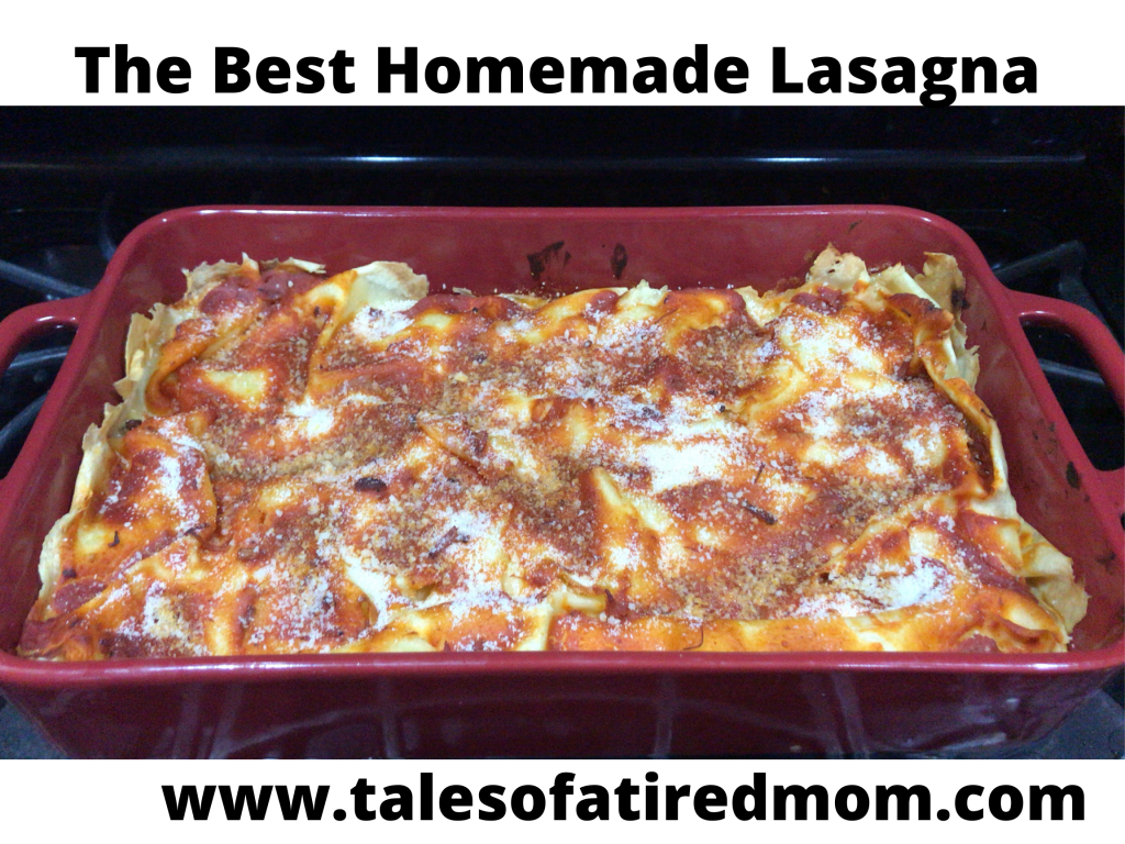 The best homemade lasagna using noodles made from scratch. Another reason why I love making lasagna is because it's open for interpretation.